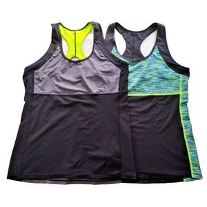 NWOT! H&M Work-Out Tanks, Sz L, Lot of Two [2]